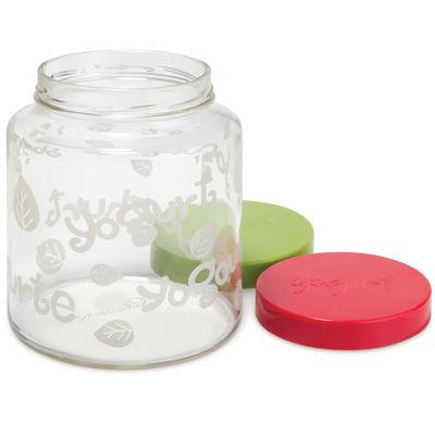 Euro Cuisine® 2-qt. Glass Jar