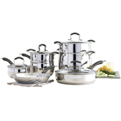 Epicurious® 11-pc. Stainless Steel Cookware Set
