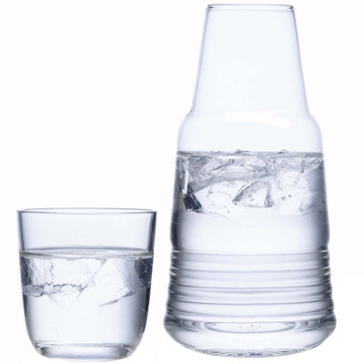 Luigi Bormioli Michelangelo Bedside Water Glass Set