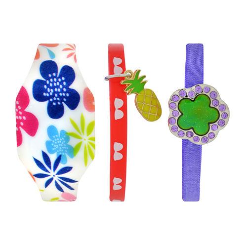 Total Girl Girls Multicolor Watch Boxed Set-Ttg1007jc