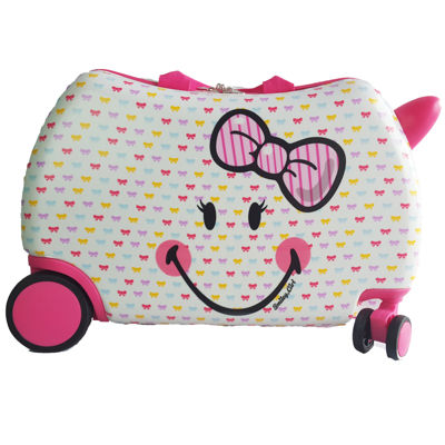 Smiley Cruizer Cutie Hardside Luggage