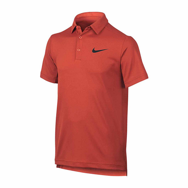 Nike short sleeve polo shirt big kid boys jcpenney for Jcpenney ladies polo shirts