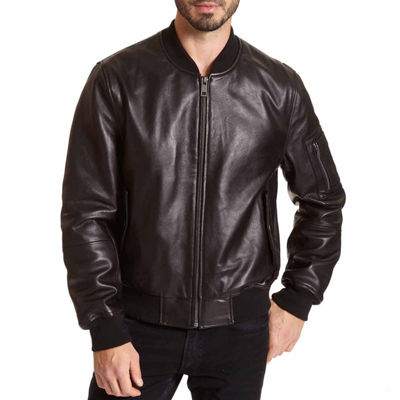 Excelled Lambskin Bomber Jacket