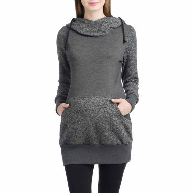 Momo Baby Circa Long Sleeve Pullover Sweater-Maternity