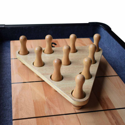 Hathaway Bowling Pin Set 12-pc. Shuffleboard Pin Set