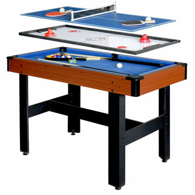 Hathaway Triad 48-In 3-In-1 Game Table