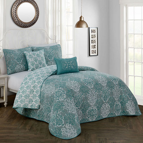 Avondale Manor Delphine 5-pc. Quilt Set
