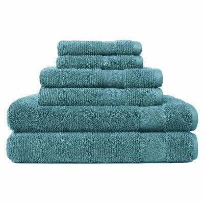Softesse Kushlon Textured 6-pc.Towel Set