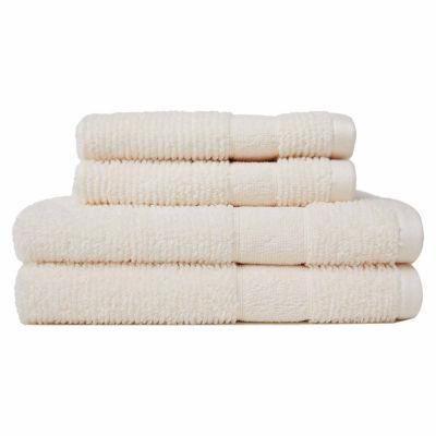 Softesse Kushlon Textured 4-pc.Towel Set