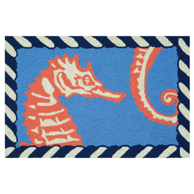 Couristan Horsing Around Hooked Rectangular Rugs