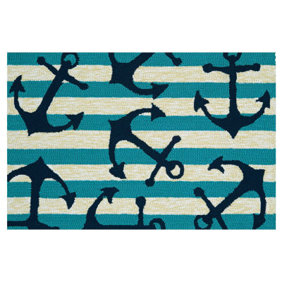 Couristan Anchors Away Hooked Rectangular Rugs