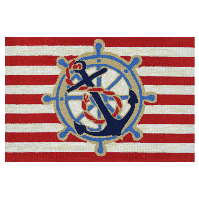 Couristan Ahoy Hooked Rectangular Rugs