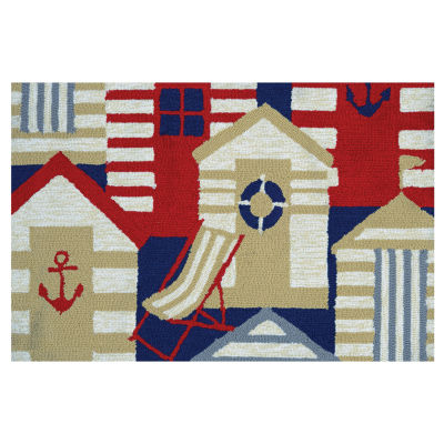 Couristan Cabana Hooked Rectangular Rugs