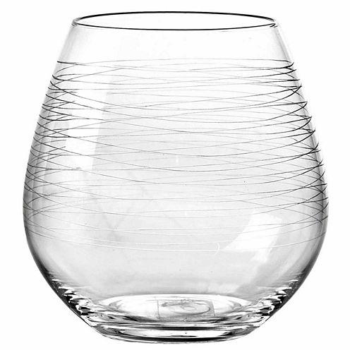 Qualia Glass Graffiti 4-pc. Wine Glass