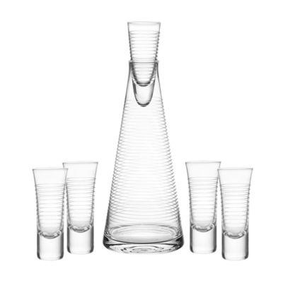 Qualia Glass Pacifica 6-pc. Decanter Set