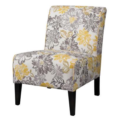 Lily Bridey Fabric Slipper Chair