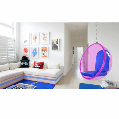 Acrylic Bubble Hanging Club Chair