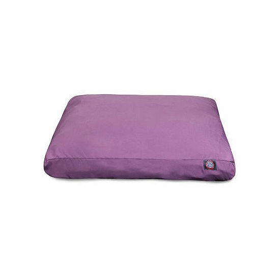 Majestic Pet Solid Rectangle Pet Bed