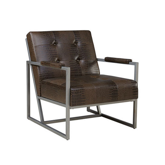 INK + IVY Waldorf Tufted Fabric Club Chair