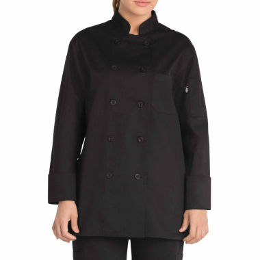 Dickies Womens Classic Chef Coat - Plus