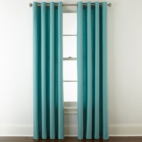 Jcpenney Home Verona Grommet Top Curtain Panel Jcpenney