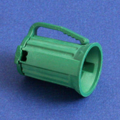 Club Pack of 100 C9 Green Christmas Light Bulb Sockets - For 18 Gauge Wire