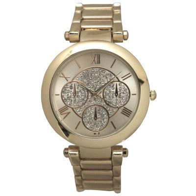 Olivia Pratt Womens Gold Tone Bracelet Watch-D60011gold