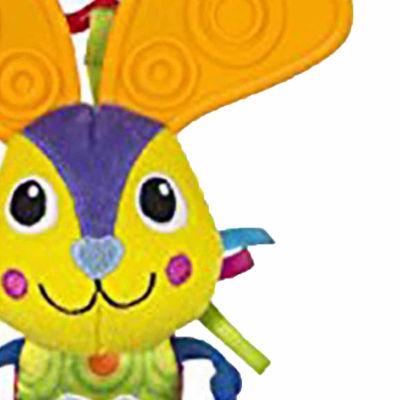 Lamaze Bella Bunny Ears Plush Carseat Toy