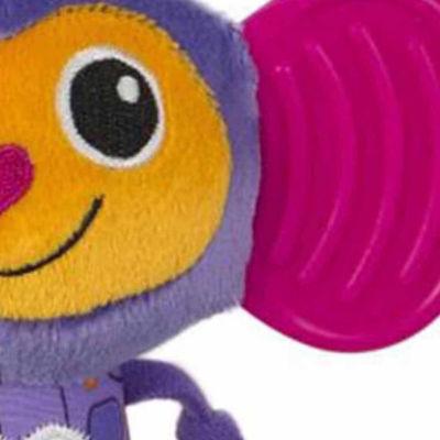 Lamaze Chewy Ears Morgan Monkey Plush Carseat Toy
