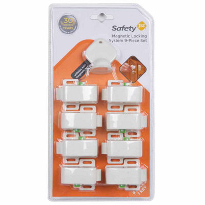 Safety 1st Complete Magnetic 8-Pack Safety Locks