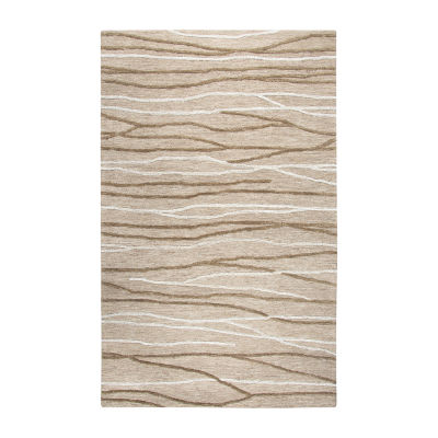 Rizzy Home Idyllic Collection Nora Stripe Rectangular Rugs