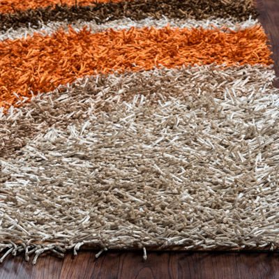 Rizzy Home Kempton Collection Vanessa Stripe Rugs
