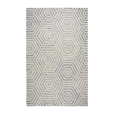 Rizzy Home Lancaster Collection Presley GeometricRectangular Rugs