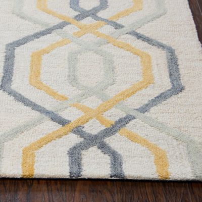 Rizzy Home Lancaster Collection Rebecca GeometricRectangular Rugs