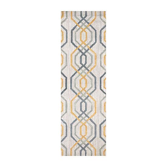 Rizzy Home Lancaster Collection Rebecca GeometricRectangular Rugs