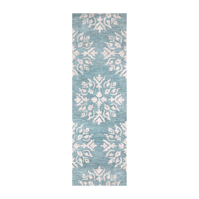 Rizzy Home Leone Collection Aaliyah Medallion Rectangular Rugs