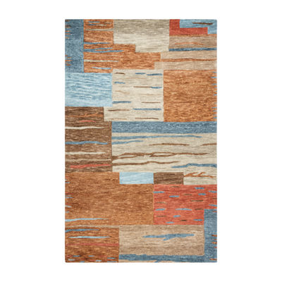 Rizzy Home Leone Collection Arianna Patchwork Rugs