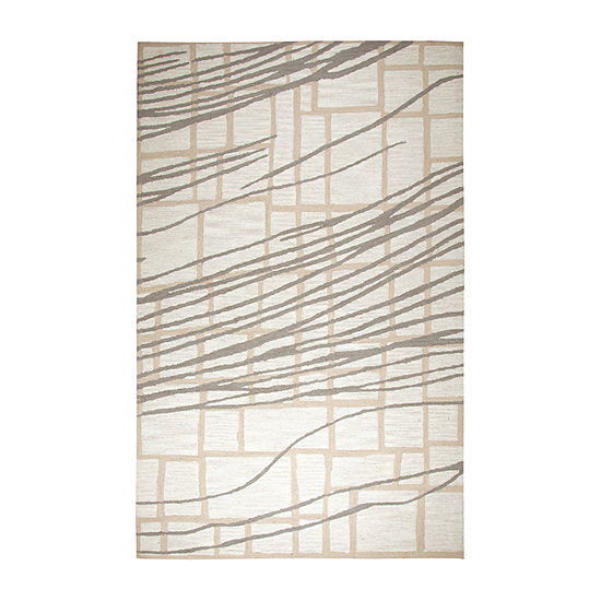 Rizzy Home Loureli Collection Adelyn Stripe Rectangular Rugs