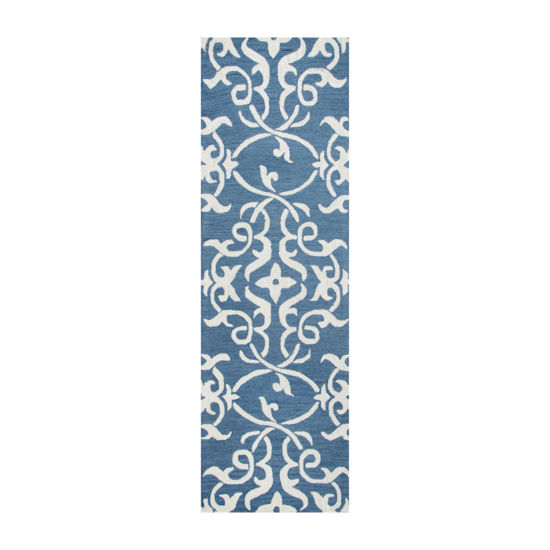 Rizzy Home Loureli Collection Callie Geometric Rectangular Rugs