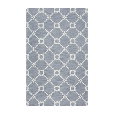 Rizzy Home Luniccia Collection Anna Geometric Rectangular Rugs