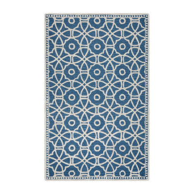 Rizzy Home Luniccia Collection Paisley Circles Rugs