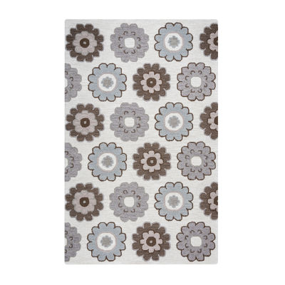 Rizzy Home Maggie Belle Collection Arya GeometricRectangular Rugs