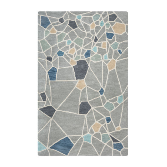Rizzy Home Marianna Fields Collection Alexandria Abstract Rectangular Rugs
