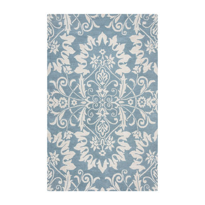 Rizzy Home Marianna Fields Collection Amaya DamaskRectangular Rugs