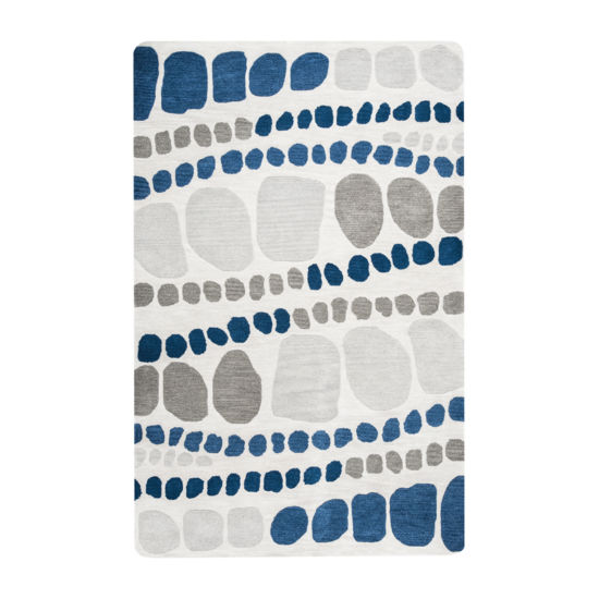 Rizzy Home Marianna Fields Collection Anastasia Abstract Rectangular Rugs