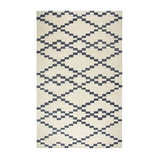Rizzy Home Marianna Fields Collection Gabrielle Geometric Rectangular Rugs