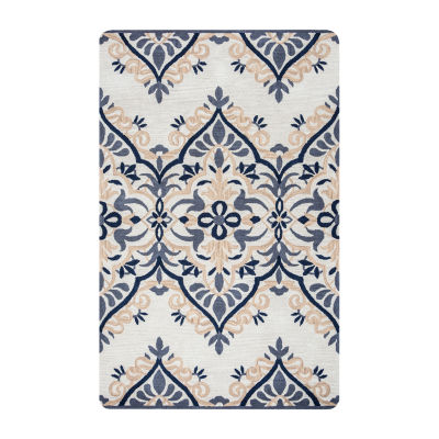 Rizzy Home Marianna Fields Collection Hailey Damask Rugs