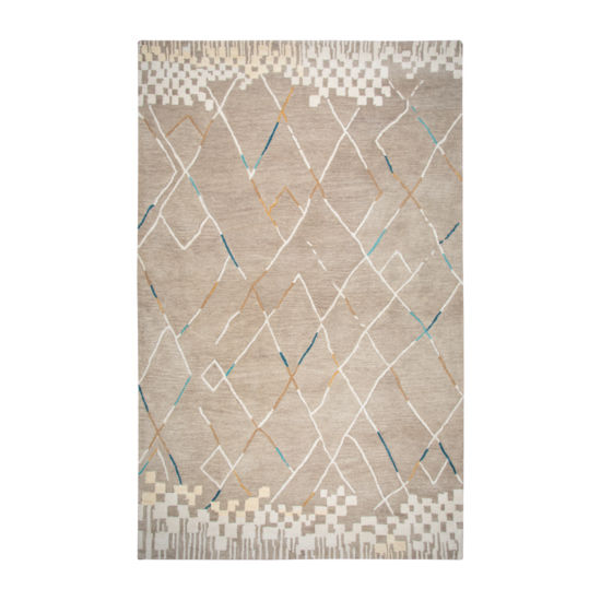 Rizzy Home Marianna Fields Collection Stephanie Abstract Rectangular Rugs