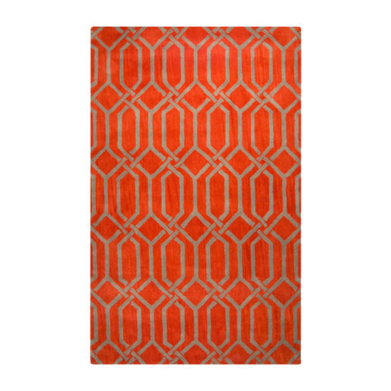 Rizzy Home Marianna Fields Collection Tessa Geometric Rectangular Rugs