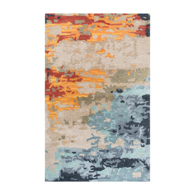 Rizzy Home Mod Collection Angela Abstract Rectangular Rugs
